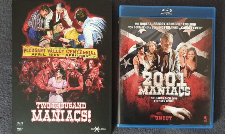 Two Thousand Maniacs! (1964) vs. 2001 Maniacs (2005)