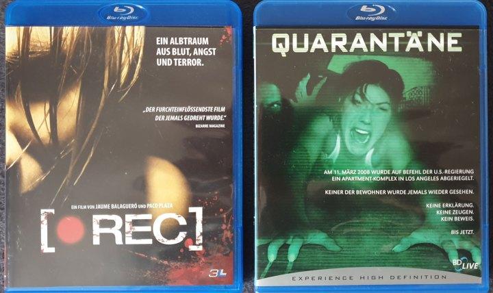 [REC] (2007) vs. Quarantäne (2008)