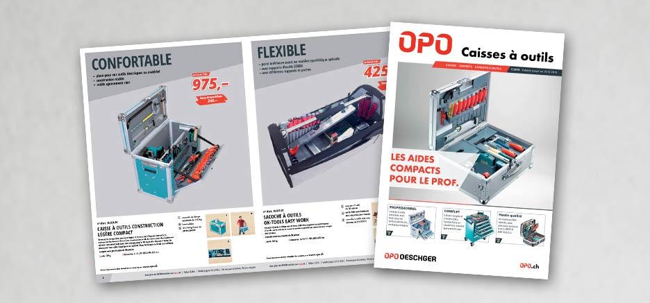Caisse à outils OPO – les compagnons compacts du professionnel.