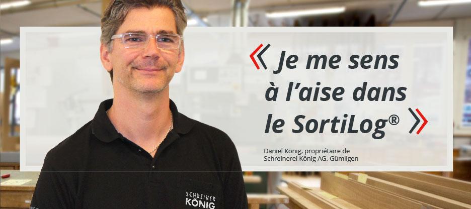 Parole aux clients d'OPO: Menuisier König SA