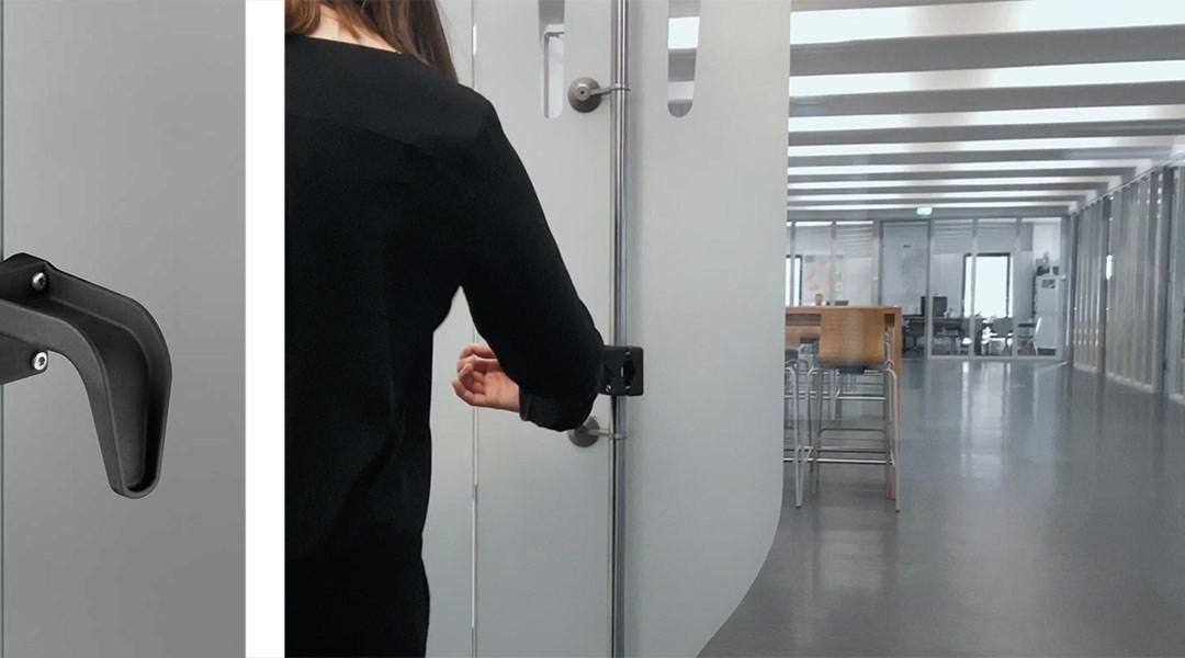 Nouveau support de poignée de porte de tirage de FSB : la solution pour ouvrir les portes sans les mains