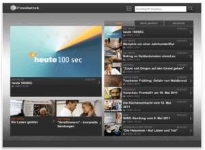 ZDF Mediathek App für's iPad