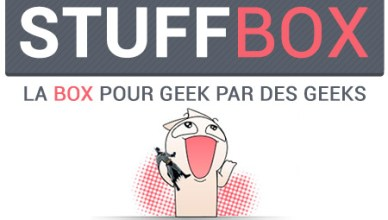 StuffBox pour les geeks