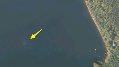 Apple Maps prouve l'existence de Nessy