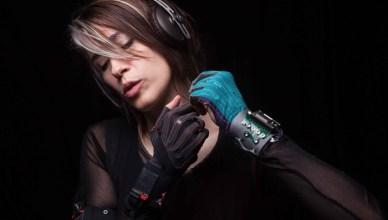 Imogen Heap et les gants musicaux Mi.Mu