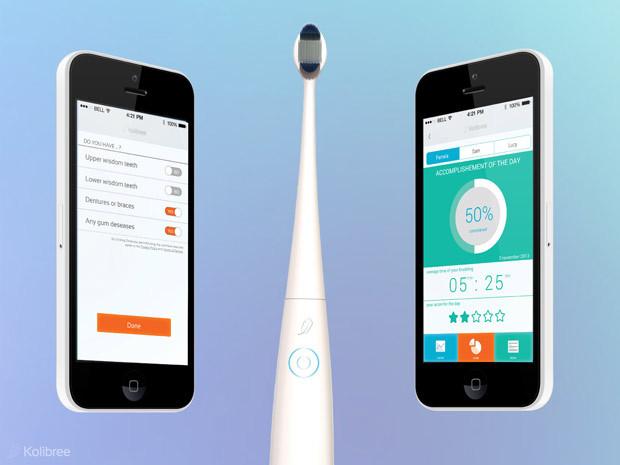 La brosse à dents connectée disponible sur Kickstarter en pré-commande