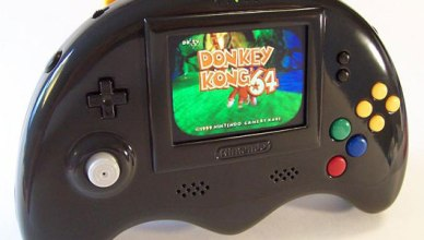 La quatrième version de la Nintendo 64 portable de Bungle