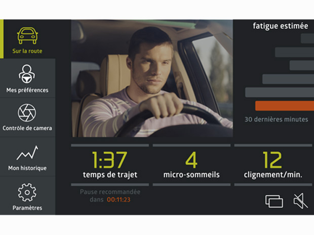 InnovEye surveille l'état de fatigue du conducteur