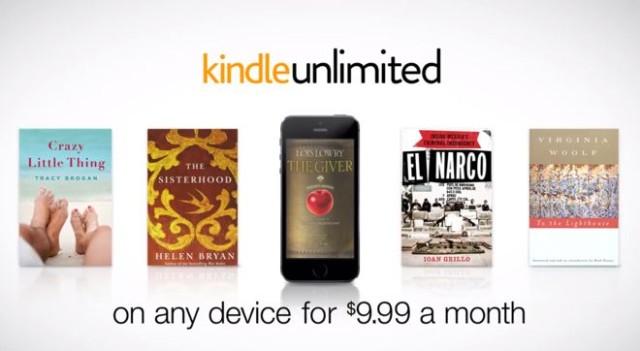 Amazon propose une offre de 600 000 livres électroniques à consulter librement pour 9.99 dollars par mois