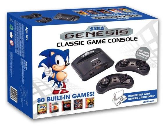La SEGA Genesis Classic est déjà disponible en Amérique du Nord et arrive en France le 8 Août.