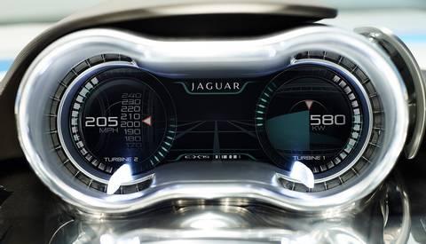 Tableau de bord Jaguar