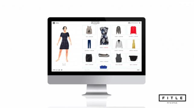 Fitle se charge de créer votre avatar en 3D pour que vous puissiez essayer les vêtements