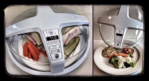 Micro-ondes qui compte les calories