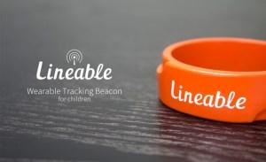 Lineable bracelet connecté surveiller enfant