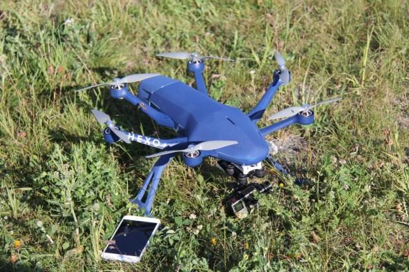 Drone autonome révolutionnaire Hexo+