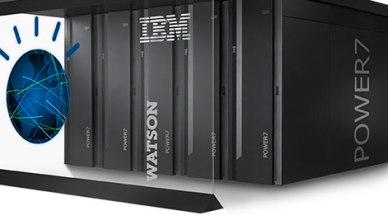 Le super ordinateur IBM Watson