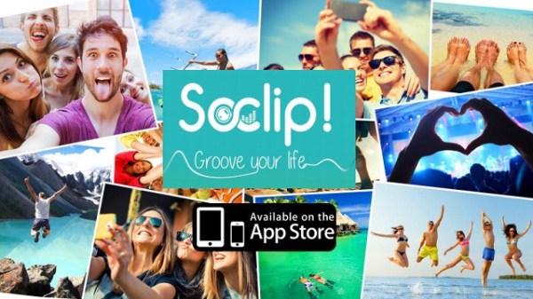 Créez vos propres clips vidéo avec Soclip!