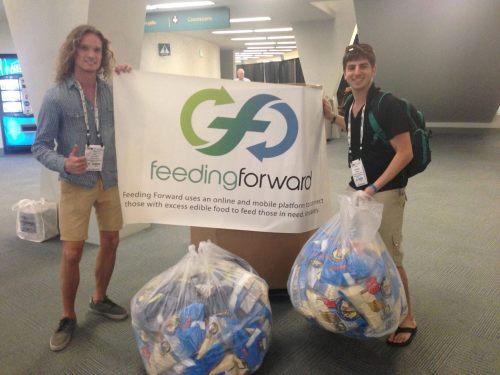 Pas de gaspillage alimentaitre avec Feeding Forward