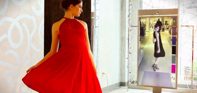 Le miroir connecté la mode en réalité augmentée
