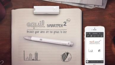 SmartPen, le stylo connecté