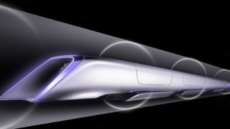 1 100 kmh avec l'Hyperloop