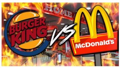 Burger King Vs McDonald's : 1 partout, la balle au centre