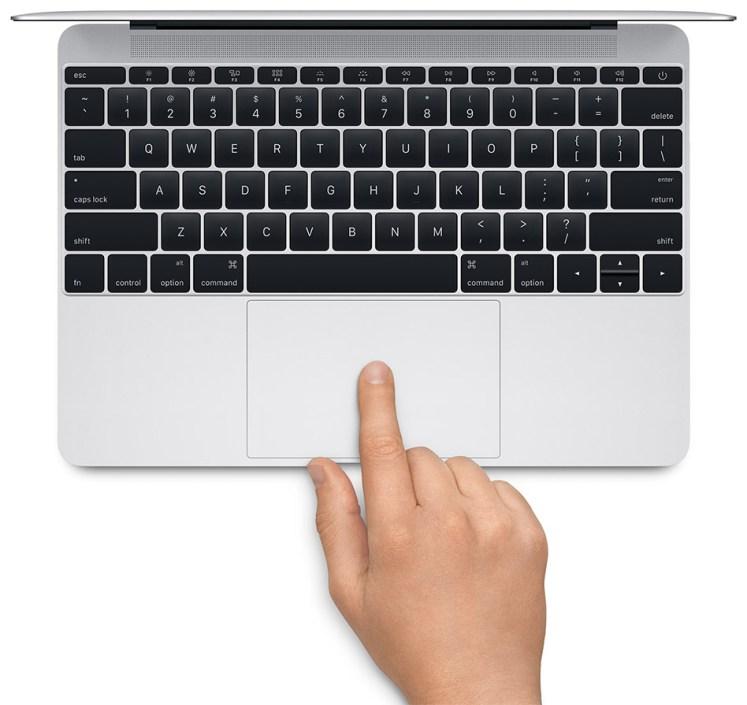 La technologie Force Touch ou 3D Touch utilisée dans le trackpad du Macbook d'Apple
