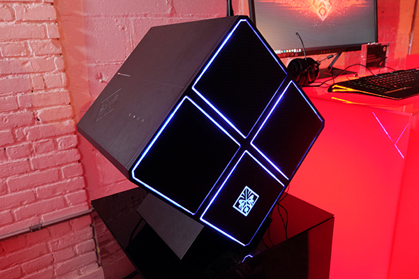 Omen X Desktop, le pc gaming de HP au format cubique