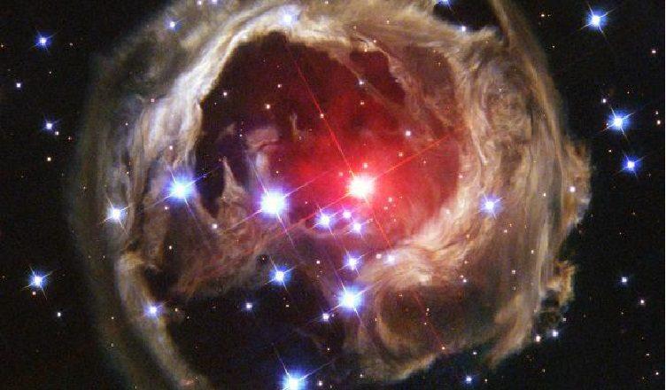 photographie de LA NASA nuage de gaz interstellaire