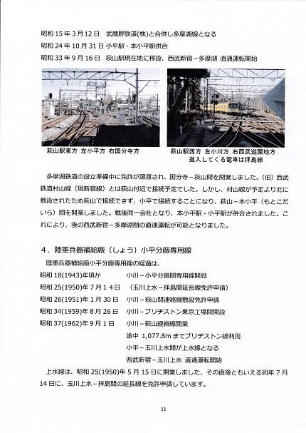 拝島線の歴史と拝島線となってから13