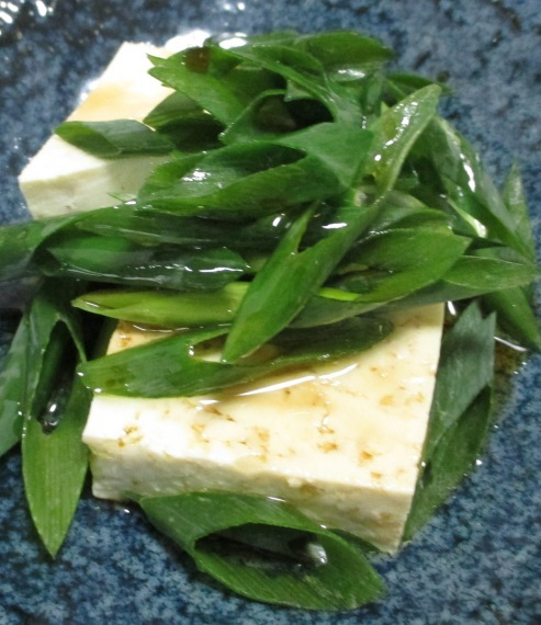 ねぎ胡麻豆腐 B