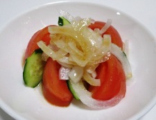 新玉トマト 調理④