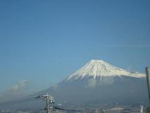 ゆーけーのお仕事日記-新幹線から見た富士山