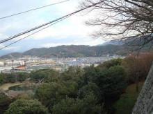 ゆーけーのお仕事日記-彦根城から佐和山を望む