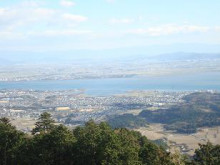 ゆーけーのお仕事日記-比叡山から琵琶湖を望む