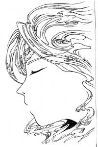 ケルスティン女神像原画