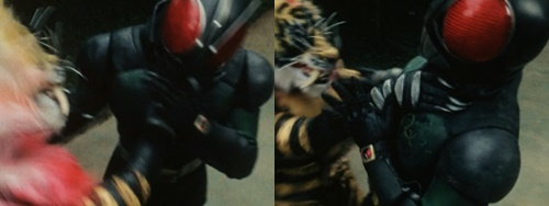 仮面ライダーブラックRXが最強怪人にやられてピンチ