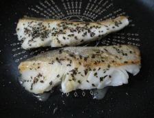 タラのバジルチーズ焼き 調理④