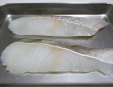 タラのバジルチーズ焼き 材料①
