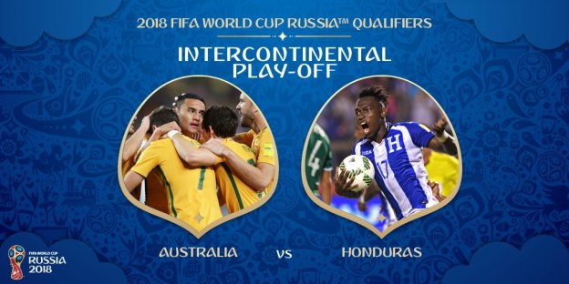 Australia will face 🇭🇳Honduras in the intercontinental play-off next month