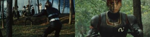 仮面ライダーブラック、南光太郎がピンチ!ヒーローがやられる