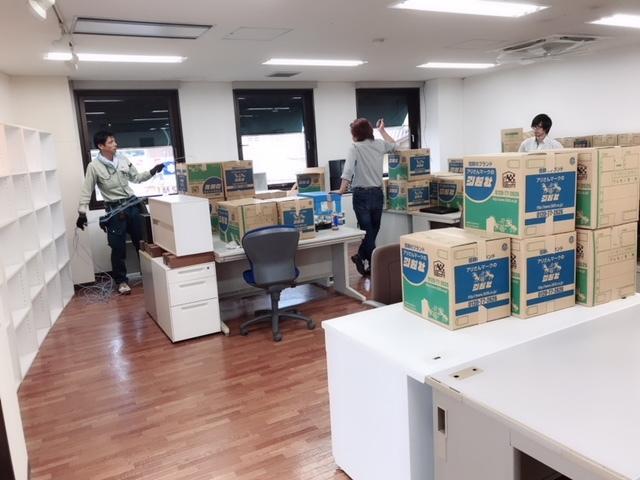 新事務所②搬入!