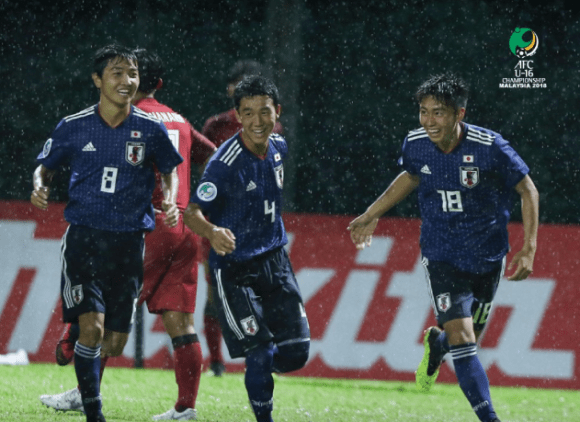 AFC U-16 Championship Thailand beaten by Japan in seven-goal thriller