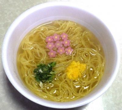 12/10発売 日清 麺職人 ふぐだし(できあがり)