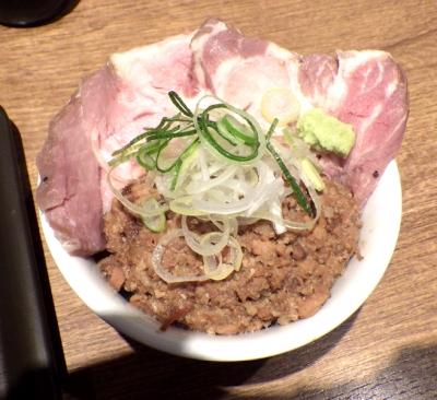 麺と心 7 MIXチャーシュー丼 ミニ