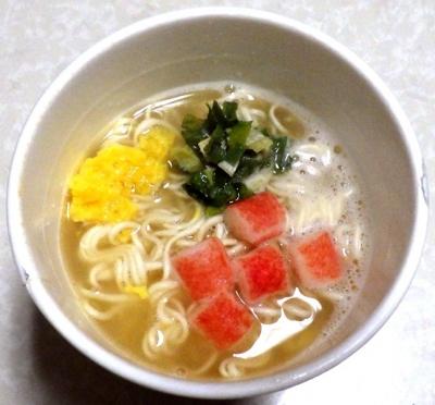 6/4発売 うま推し! えびだし塩ラーメン(できあがり)