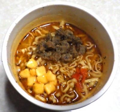 2/18発売 カップヌードル BIG ラザニア風 チーズミートソース味(できあがり)