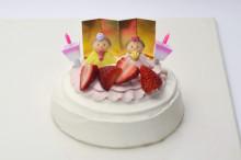 雛まつりケーキ
