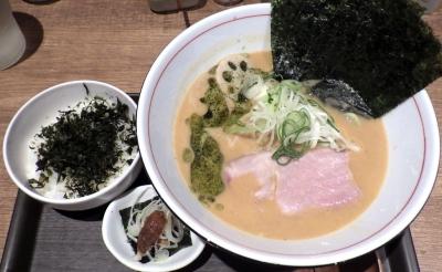 麺と心 7 雲丹白湯&焼海苔ごはん