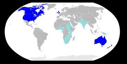 「英語圏」の画像検索結果